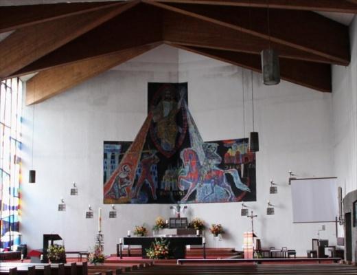 Altarraum vor dem Umbau